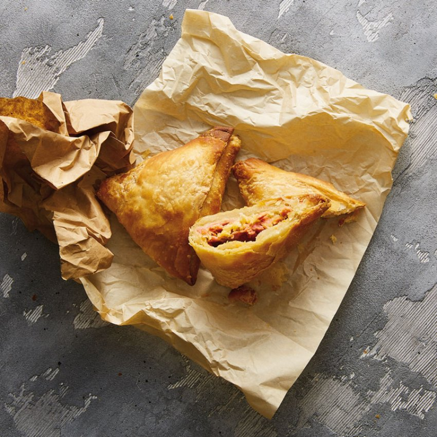 Chicken fillet & Gouda cheese, Korelas pies